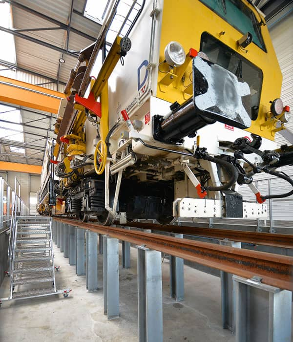 Eiffage Rail - maintenance workshop